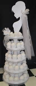 Cupcakes For Bridal Shower by Wedding Cupcake Tower Bridal Shower Ideas