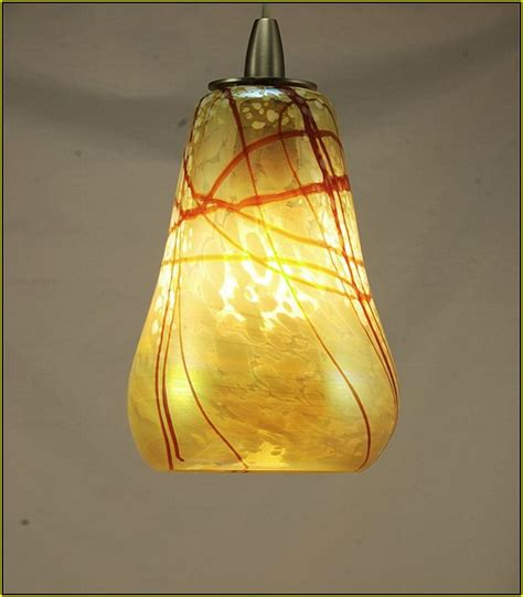 blown glass pendant light shades lighting home design ideas