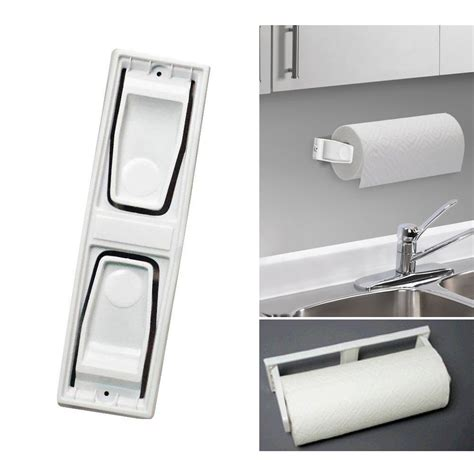 mounting kitchen wall cabinets paper towel roll holder dispenser wall mount cabinet kitchen houseware plastic 7795735172483