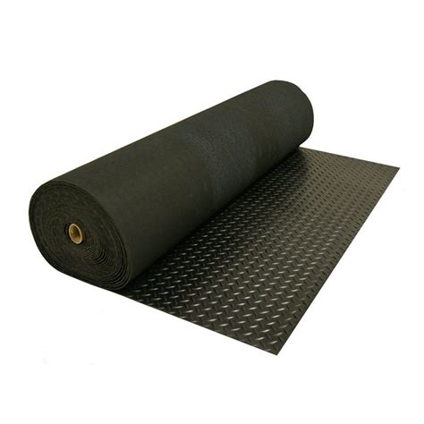 Trailer Mats - plate rubber flooring for the race trailer miss