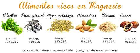 alimentos ricos en potasio  alimentos ricos en magnesio salud  nutricion  deportistas