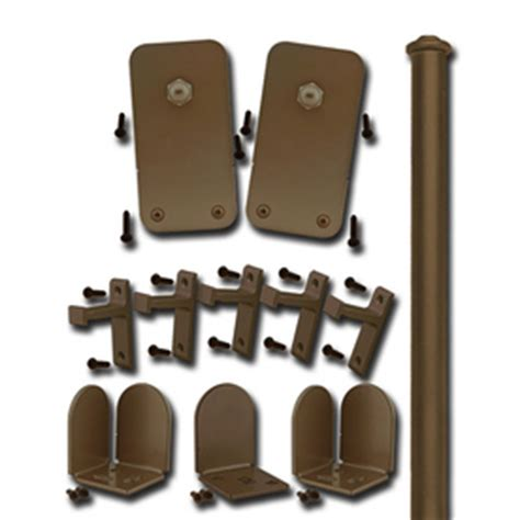 barn door roller kit shop glide 72 in bronze steel interior barn door