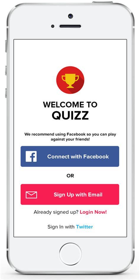 ios app code templates quizz ios app template