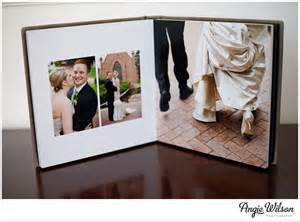 wedding photo albums flushmount wedding album 187 angie wilson photography