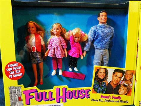 full house doll danny s family from full house dolls by tiger toys danny d j stephanie and