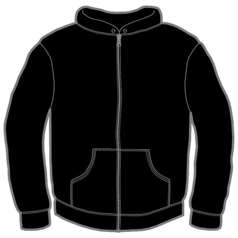 jacket layout vector jacket with zipper vector image download at vectorportal