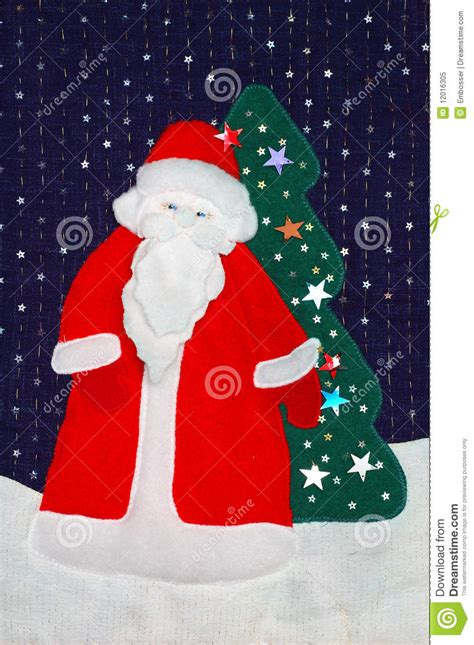 Patchwork Santa - santa patchwork royalty free stock photo image 12016305