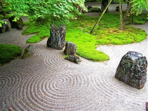 Zen Rock Garden Ideas Zen Garden Landscaping Designs With Big Rocks