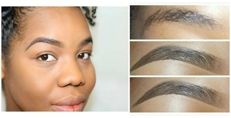 eyebrow shaping on african americans video tutorial getting that quot on fleek quot eyebrows