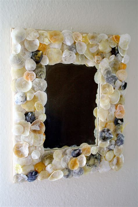 striking shell mirror designs tutorials guide patterns