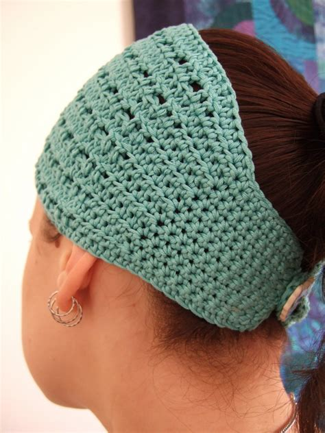 free pattern headband crochet gt free pattern nadie crochet headband hair wrap