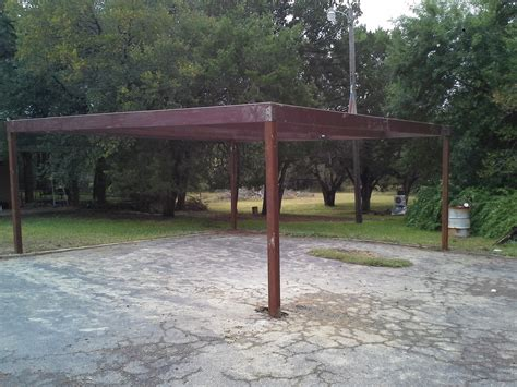 Free Standing Carports Prices Free Standing All Metal Carport Karnes County