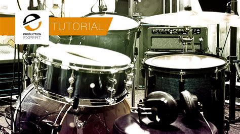 tutorial drum tutorial recording a drum kit using 2 and 3 microphones