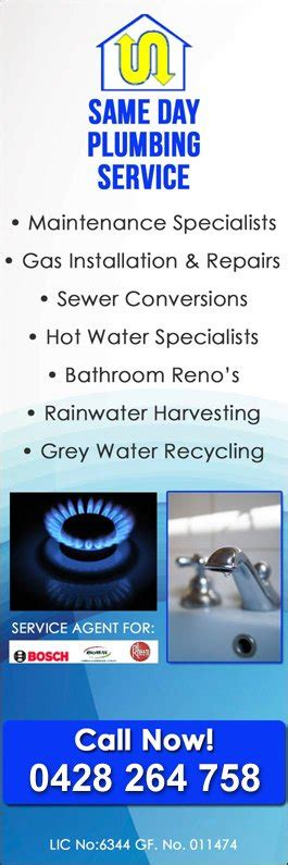 Same Day Service Plumbing by Same Day Plumbing Service Plumbers Gas Fitters 16