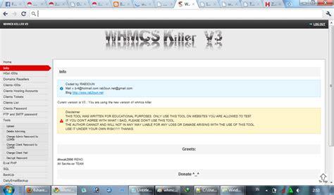 Tutorial Hack Sederhana | tutorial hack whm dan cpanel dengan whmcs killer
