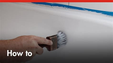 bunnings bathroom paint how to paint a bath tub diy at bunnings youtube