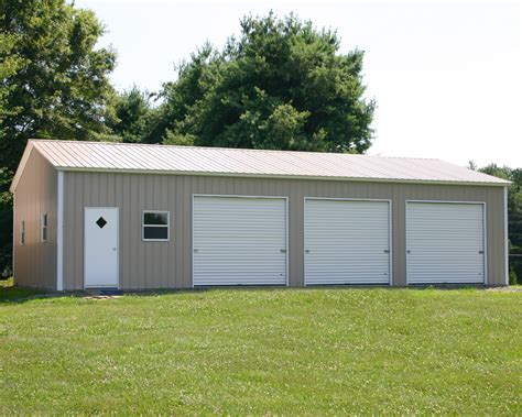 Metal Garage Designs mccarte pole barn kit prices nc