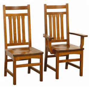 wooden dining room chairs solid wood mission dining chair