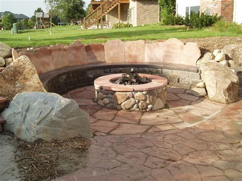 firepit seating firepit seating traditional patio omaha by sun