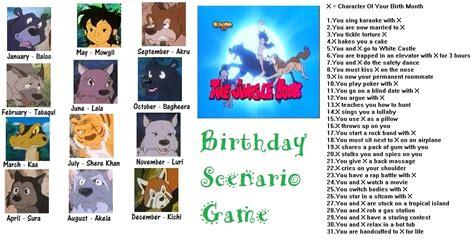 anime birthday scenario jungle book anime birthday scenario birthday