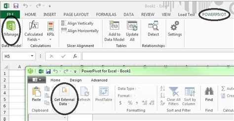How To Show Powerpivot Tab In Excel 2010 Take A Tour Of | how to show powerpivot tab in excel 2010 installing