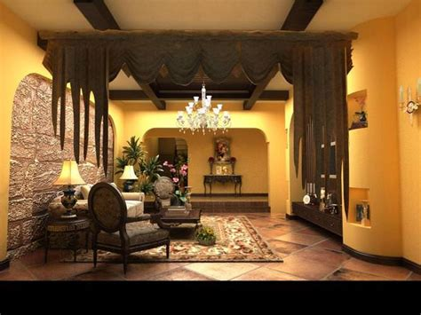 high end home decor home living room with high end decor 3d model max