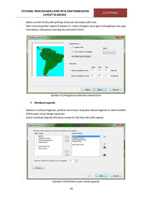 tutorial layout arcgis tutorial penyusunan layer peta pembuatan layout di arcgis