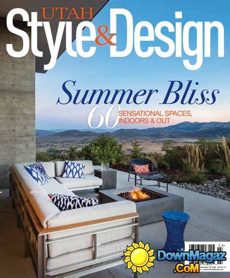 utah home design magazine utah home design magazine utah style design summer 2016