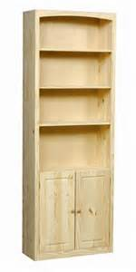 wood bookcase kits pine bookcase door kit 30 unfinished furniture