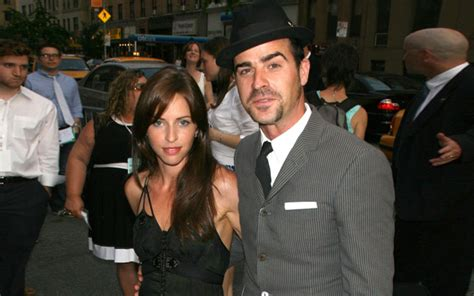 Are And Justin Dating by Justin Theroux S Relationship With Ex Heidi