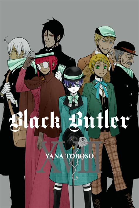 black butler vol 25 clayton black butler