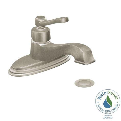 single bathroom sink faucet brushed nickel single lavatory faucet brushed nickel