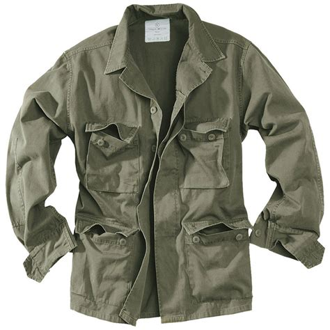 Parka Green Army List Parka Army Premium surplus army style lightweight bdu mens cotton jacket washed olive od ebay