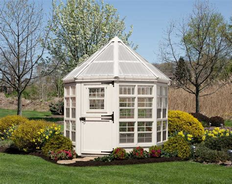 Octagon Houses Little Cottage Company 8x8 Octagon Greenhouse 8x8 Lcog