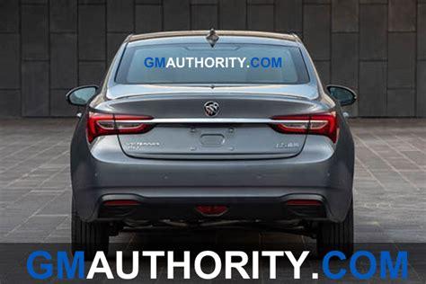 Buick Sedan 2020 by 2020 Buick Verano Sedan Refresh Leaks With Major Updates