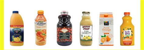 lightly pasteurized brands store bought fruit juice brands to avoid diet