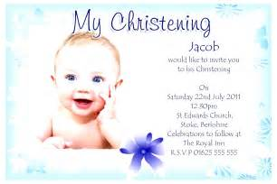 Baptism Invitation Card Template christening invitation card template besttemplates123