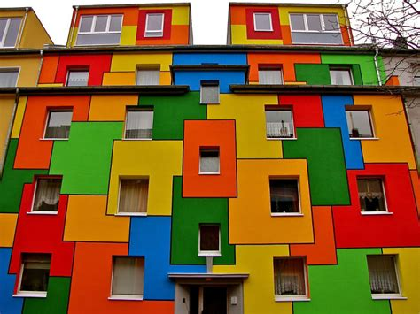 colored houses post the world s most colorful buildings bored panda