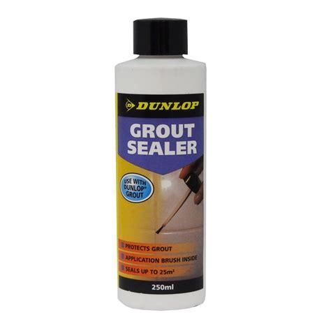 dunlop 250ml grout sealer bunnings warehouse