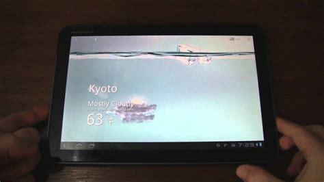 live wallpaper asus tablet asus transformer water live wallpaper running on motorola