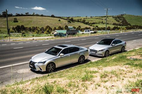 hyundai lexus 2016 hyundai genesis vs lexus gs 350 v6 luxury car