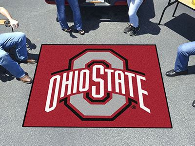 Ohio State Outdoor Rug Wholesale Bulk Dropshipper Ohio State Tailgater Rug 6072 Distributor