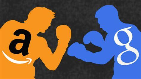 amazon vs google google s new device will compete with amazon s alexa
