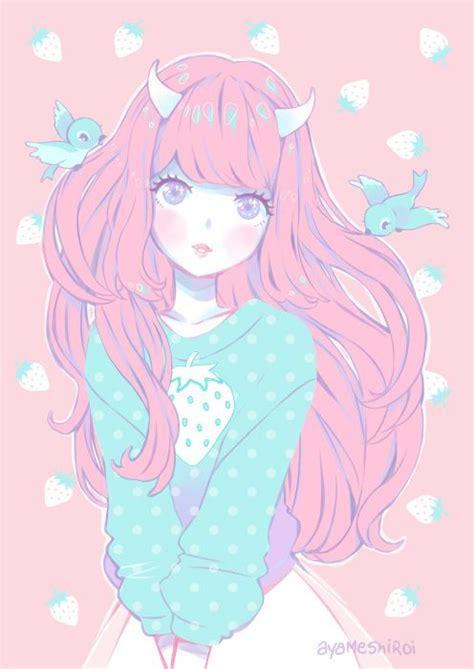 cute anime girl wallpaper tumblr http ayameshiroi tumblr com post 93473114844 so sweet so