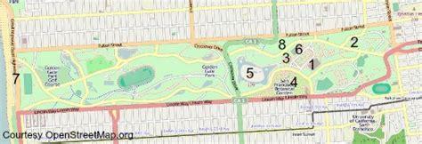 japanese garden san francisco map golden gate park san francisco california academy of