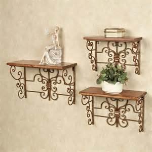 Decorative Wall Bookshelves Soria Decorative Wall Shelf Set