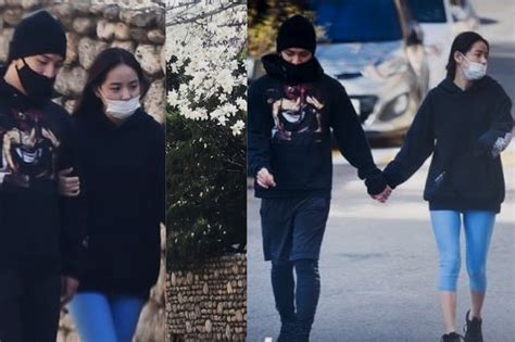 Nb Taeyang And Min Hyo Rin Are In A Relationship Spotted Together | 7 photos of bigbang s taeyang and min hyo rin on a secret date