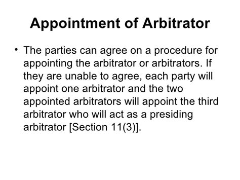 section 9 arbitration act arbitration act unit 7