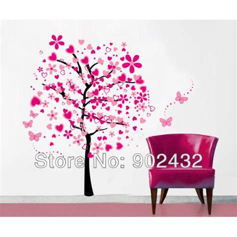 removable wall stickers removable vinyl wall sticker 2 pcs set tree and