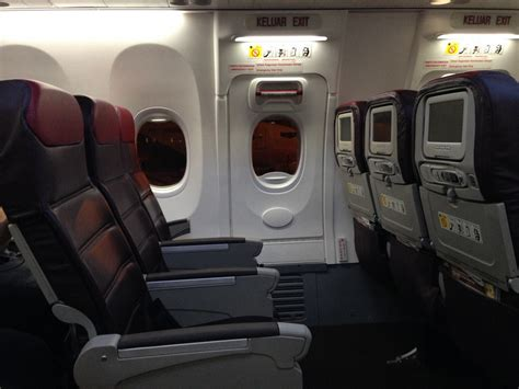 do exit seats recline beaches of south east asia malaysia airlines economy